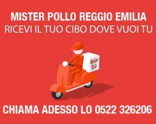 Pollo CONSEGNA DOMICILIO Mister Pollo Reggio Emilia
