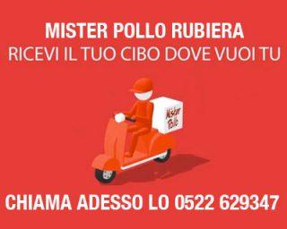Pollo CONSEGNA DOMICILIO Mister Pollo Rubiera